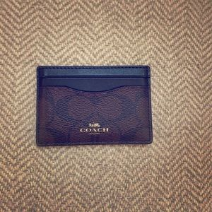 Coach Credited Card Holder